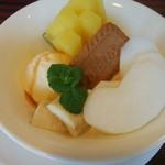 カフェ ド サンク - バニラアイス