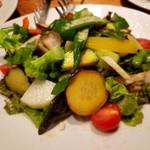 中野アッカ - 20種彩り野菜のサラダ