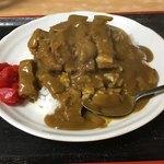 そば屋「花菊」 - 料理写真:カツカレー
