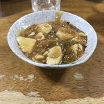 三太夫 - まーぼー丼ライス無し(マーボー豆腐です)