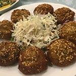 ハラルシェフダイニングカフェ - 2018年8月中旬。タアメイヤ(ファラフェル、ソラ豆でつくったコロッケ状の食べ物)
