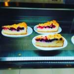 IKEAレストラン - チーズケーキ。