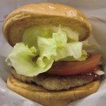 モスバーガー - モーニング野菜バーガー:250円