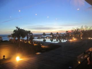 サイプレスリゾート久米島 - 席からの風景2