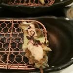 雲仙 - 料理写真:アカニシ貝とセロリ