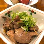 円屋 ハナレ - 鶏の肝煮