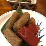 円屋 ハナレ - こんにゃく山椒煮