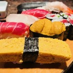 野郎寿司 - にぎりの具合もいい!