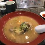 回転寿司 魚浜 - あら汁