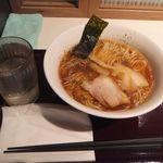 90868500 - 「中華そば(麺大盛り)」(600円込)(2018年8月)