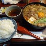 9087825 - 牛鍋定食(1000円)