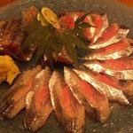 和み酒 帆凪 - 北海道産秋刀魚の刺身