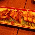 和み酒 帆凪 - 地鶏柚子胡椒焼き