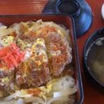レストパーク馬渕川 - カツ丼