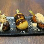 MARUFUJI CAFE - だんご(たこ焼き みたらし 黒蜜きなこ)1