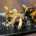 MARUFUJI CAFE - だんご(たこ焼き みたらし 黒蜜きなこ)2