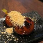 MARUFUJI CAFE - だんご(たこ焼き みたらし 黒蜜きなこ)4