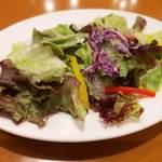 天馬 - プラス100円でサラダ
