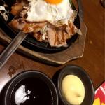 贔屓屋 - 豚玉にはソース&マヨ