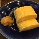 玄蕎麦 野中 - 出汁巻き トロットロです これは抜群に美味しい