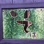 玄蕎麦 野中 - 新蕎麦をイメージさせる翡翠色の看板