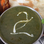 グリーン インディア - ほうれん草とジャガイモのカレー