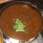 南インド料理 葉菜 - ノンベジタリアンカレー「ラムビンダル」