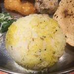 南インド料理 葉菜 - ライス