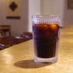 セアダスフラワーカフェ - アイスコーヒー