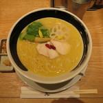 銀座 篝 - 鶏白湯SOBA 麺大盛り
