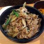 札幌軒 - そして肉丼