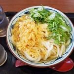 丸亀製麺 - かけうどん冷大390円