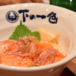 90881206 - 絹姫サーモン丼