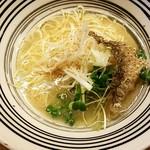 堂の浦 - 料理写真:鯛の塩らーめん:600円