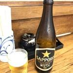 90884484 - 瓶ビール 550yen
