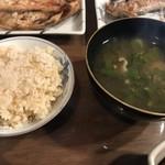 湯治場21 大見山荘 - 料理写真: