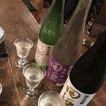 90889133 - 田酒 三種飲み比べ