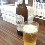 麺屋時茂 - ビール(小瓶)(350円)