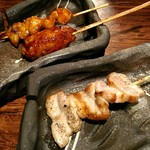 町の焼き鳥レストラン トリ太鼓 - 串焼きは旨い!