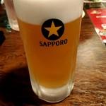 町の焼き鳥レストラン トリ太鼓 - 富良野メロンビールは甘い。