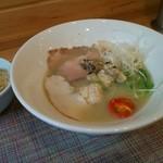 麺屋 貝原 - 料理写真:貝しおそばと貝めし(小)