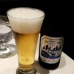 アグネスカフェ - アサヒスーパードライ:650円