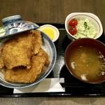 食処 ふらっと - 福井名物ソースカツ丼