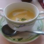 90892188 - サラダランチの「とうもろこしの冷静スープ」