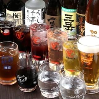 ビール&ワインをはじめ、多彩なラインナップでお届け☆