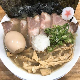まぐちゃんラーメン - 料理写真:得製煮干しラーメン