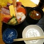 moken - モーケン丼ネタ大盛1760円