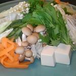 哲多食源の里 祥華 - 鍋野菜