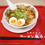 ラーメン魁力屋 - 特製醤油 味玉ラーメン(並)¥750