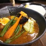 スープカレーlavi - 八百屋の野菜スープカレー ~オリジナルスープ仕立て~辛さ4番
